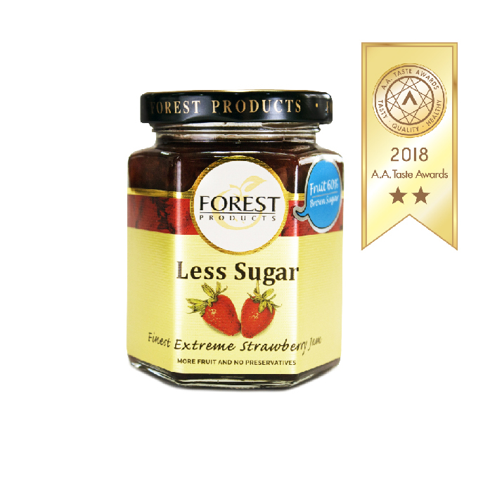 LESS SUGAR FINEST EXTREME STRAWBERRY JAM